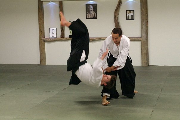 Dunken Francis 4th dan institute of aikido auckland