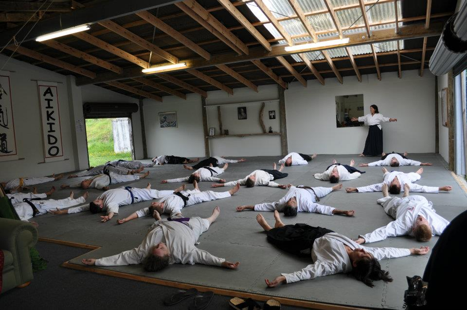 Aikido Auckland exercise